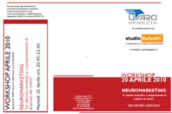 Evento Neuromarketing Aprile 2010